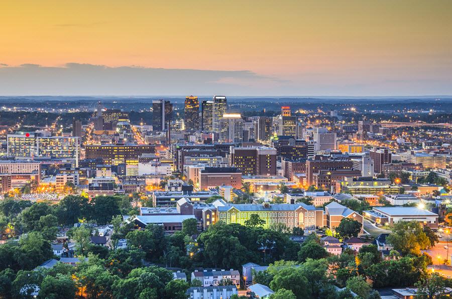 Birmingham, AL Skyline.