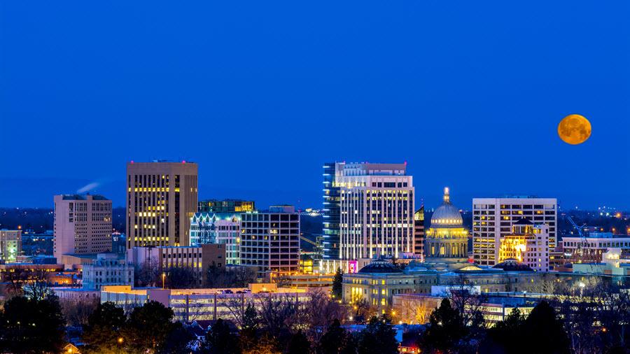 Boise Skyline.