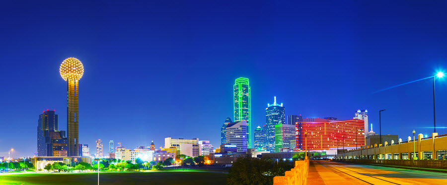 Dallas Panoramic View.