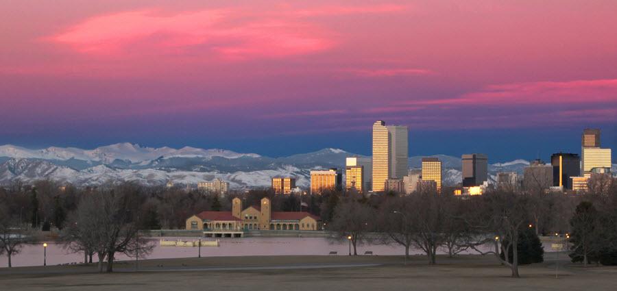Tulsa City Skyline.