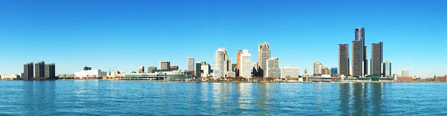 Detroit Panorama.