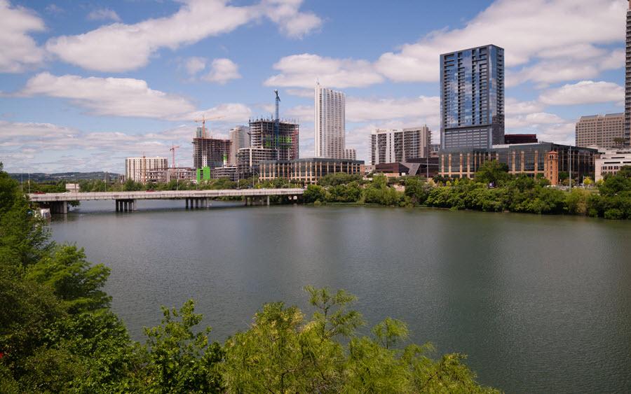 Downtown Austin.