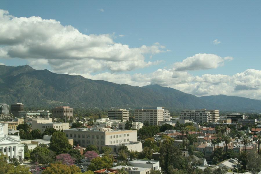 Downtown Pasadena.