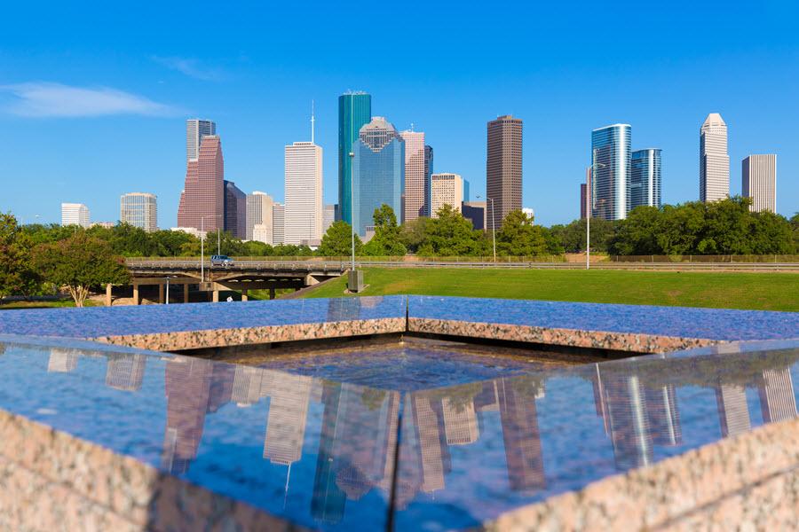 Houston Skyline.
