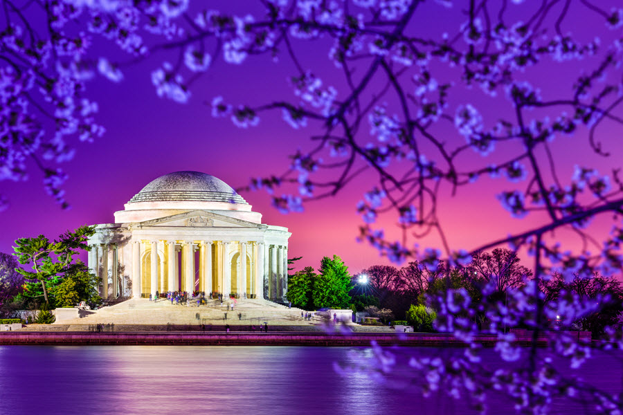 Jefferson Memorial.