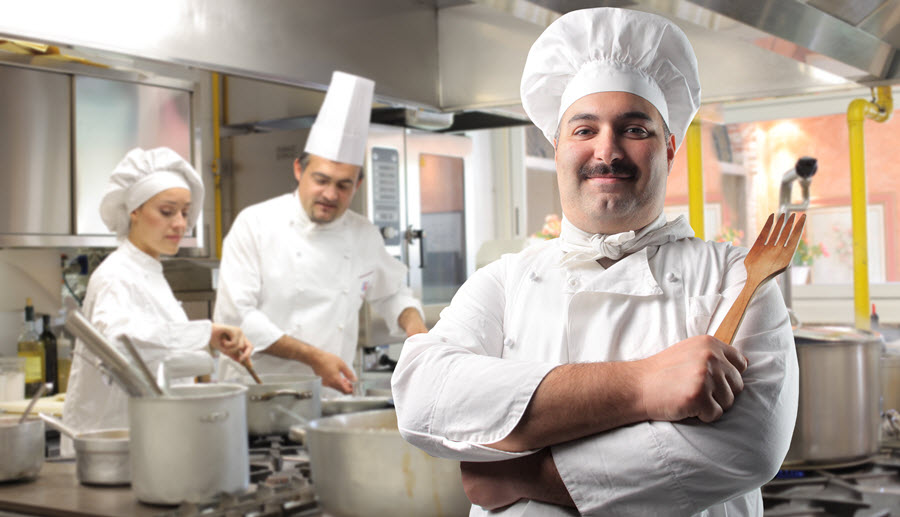 Chef Apprenticeship in a Restaurant Kitchen.
