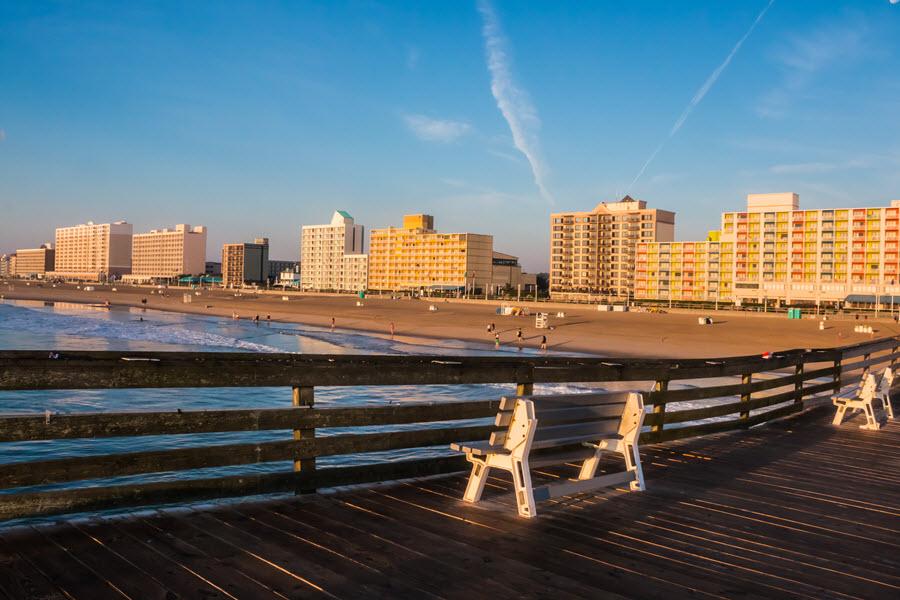 Virginia Beach Boardwalk.